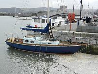 Boat at Conwy Quay